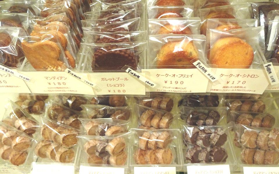GATEAUX SECS(焼き菓子)